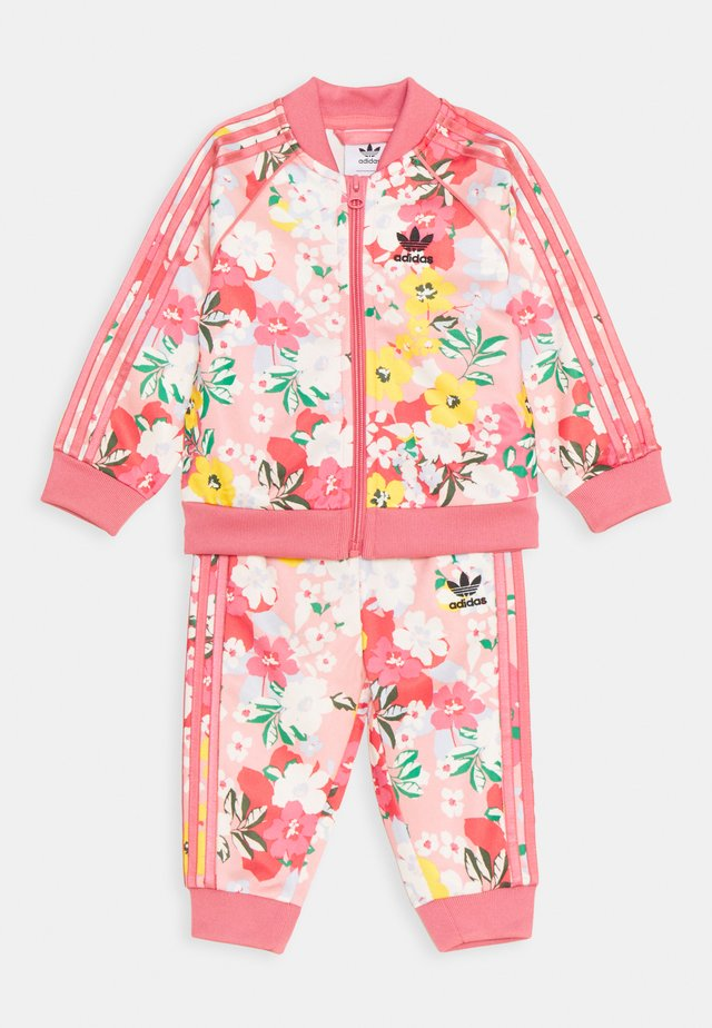 SET - Tracksuit - pink/multicolor/rose
