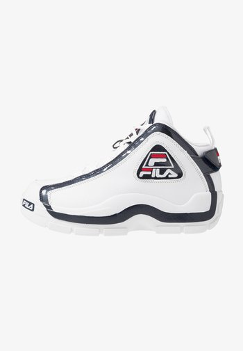 GRANT HILL 2 - Höga sneakers - white/navy/red