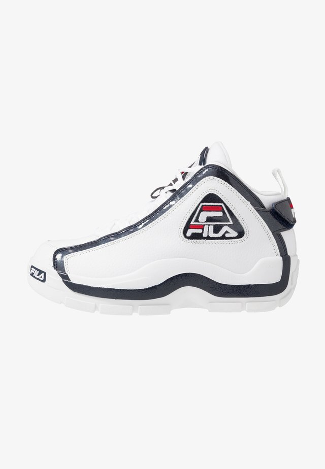 GRANT HILL 2 - Sneakersy wysokie - white/navy/red