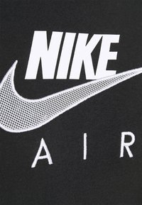 Nike Sportswear - AIR  - Hoodie - black/white - 7