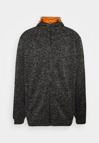 Jack´s Sportswear - Zip-up hoodie - black mix - 0