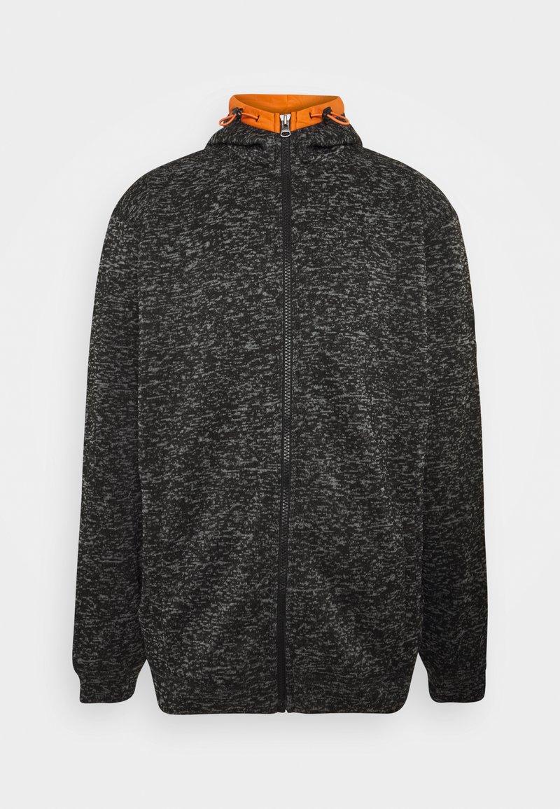 Jack´s Sportswear - Zip-up hoodie - black mix