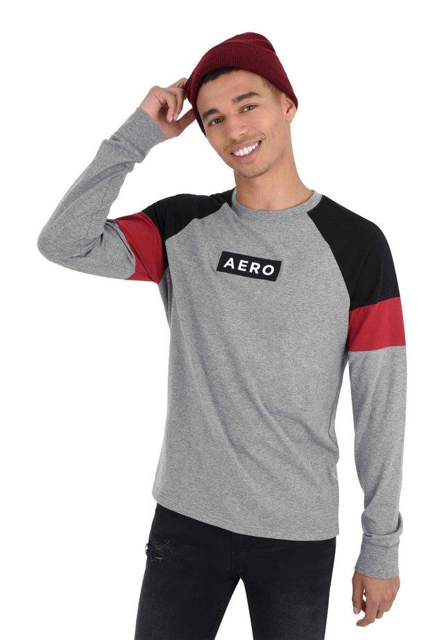 ACTIVE TEE - Maglietta a manica lunga - grey