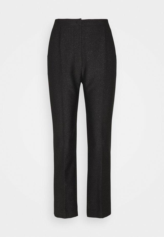PROSA - Spodnie materiałowe - black