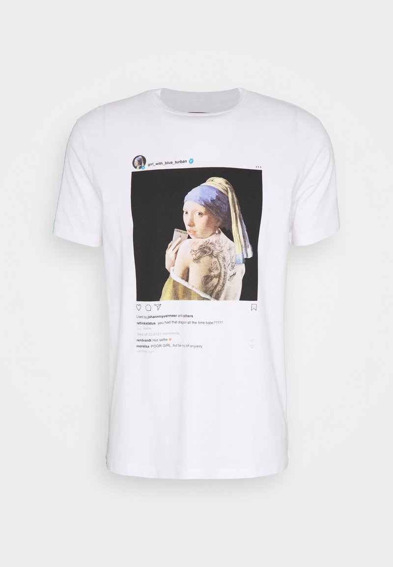 RETHINK Status - UNISEX REGULAR FIT - Print T-shirt - white