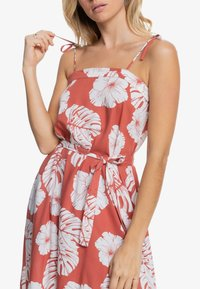 Roxy - NOWHERE TO HIDE - Day dress - marsala - 3