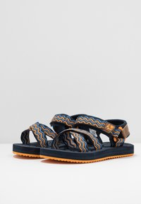 Jack Wolfskin - ZULU - Walking sandals - blue/orange - 3