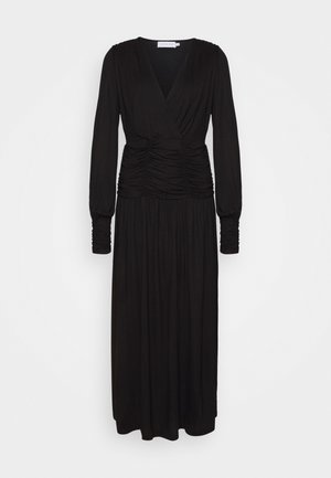 SIALINA  - Maxi dress - pitch black
