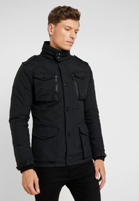 Schott - FIELD - Light jacket - black - 0