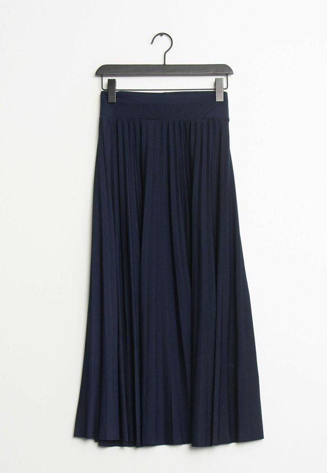 Plooirok - blue