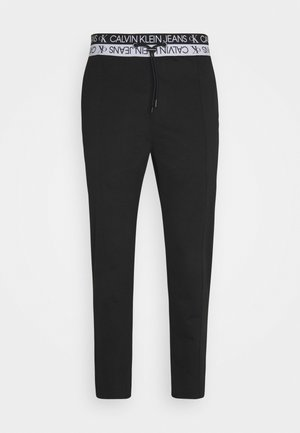 LOGO WAISTBAND SEASONAL GALFOS - Broek - black