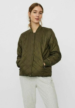 Light jacket - ivy green