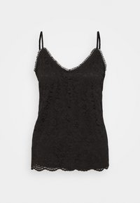 Vila - VISELA SINGLET - Top - black - 0