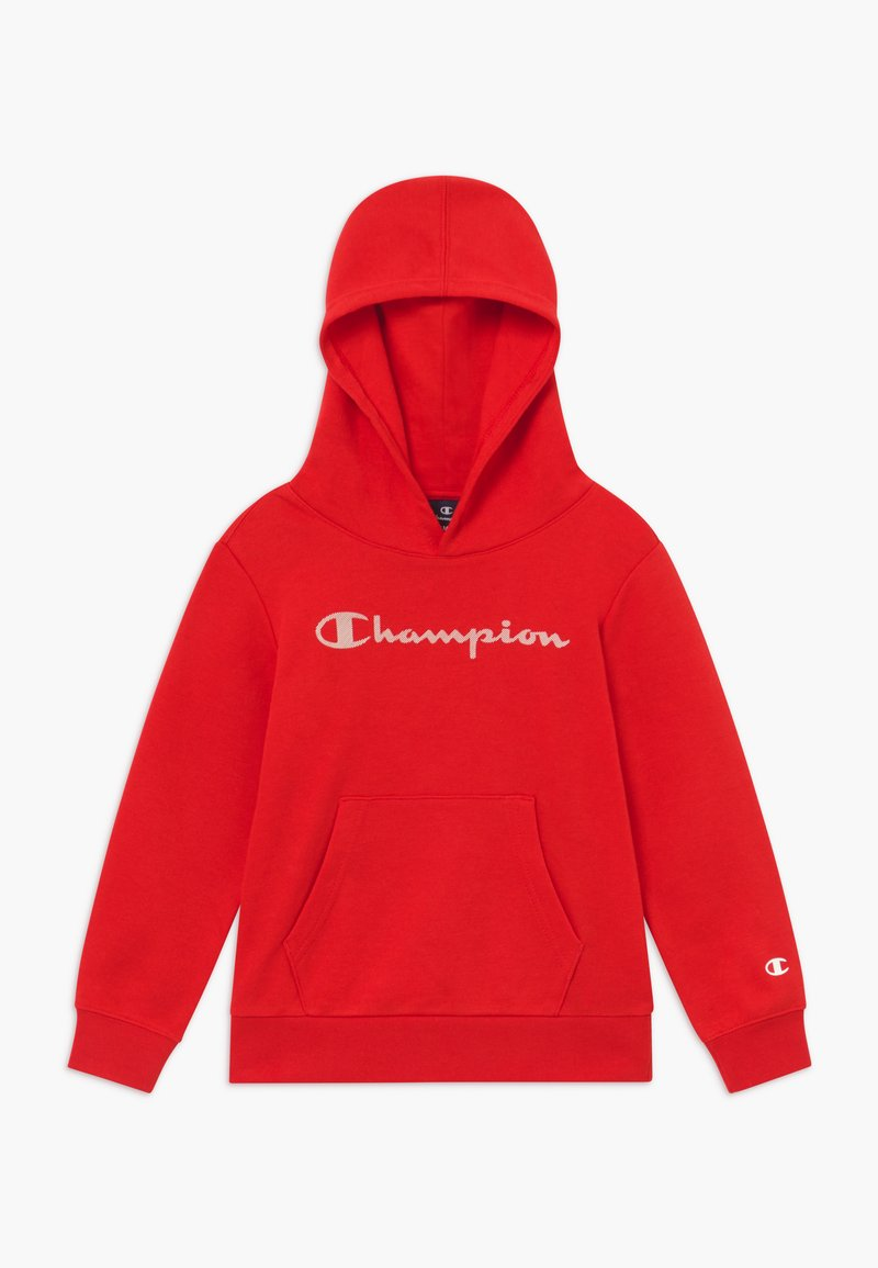 Champion - LEGACY AMERICAN CLASSICS HOODED  - Hoodie - red