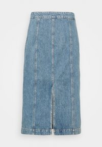 Tiger of Sweden Jeans - JAIRA - Denimová sukně - light blue - 1