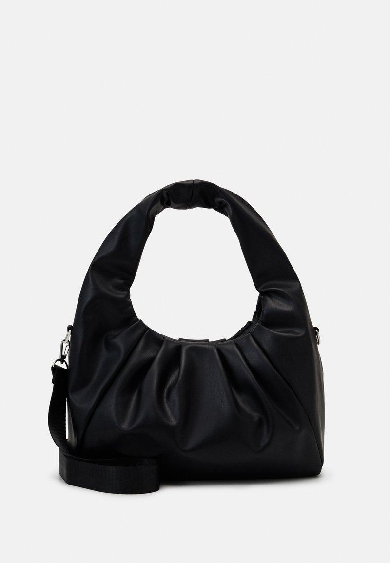 Weekday - POUCH BAG - Bolso de mano - black