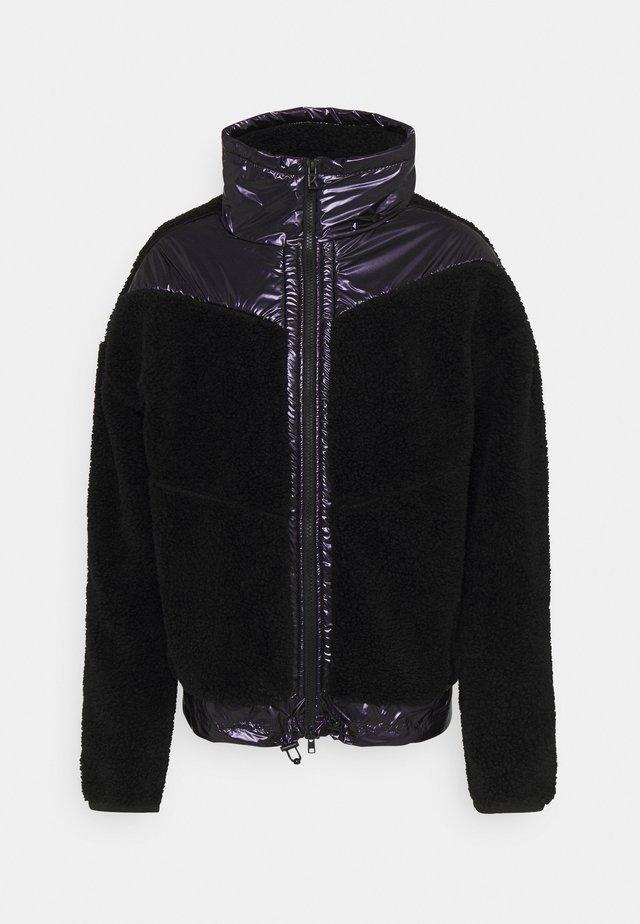 SAAMI - Fleecová bunda - black