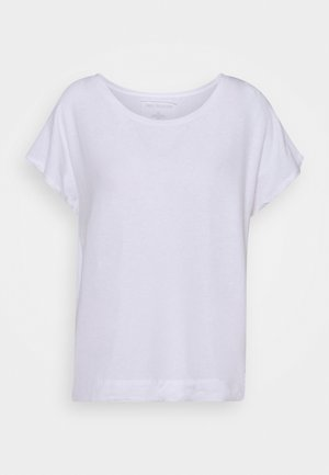 WIDE CREW PIGMENT  - Basic T-shirt - white