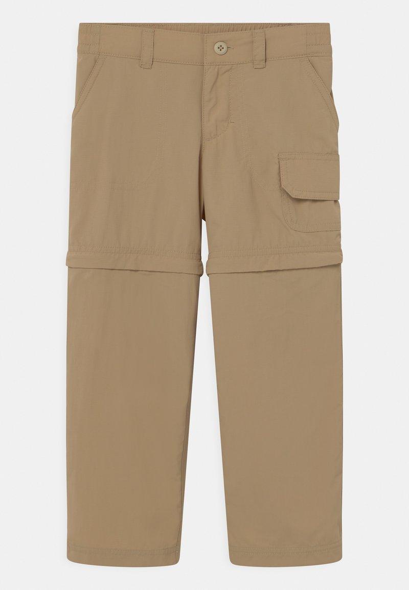 Columbia - SILVER RIDGE CONVERTIBLE 2 IN-1 UNISEX - Outdoor trousers - british tan