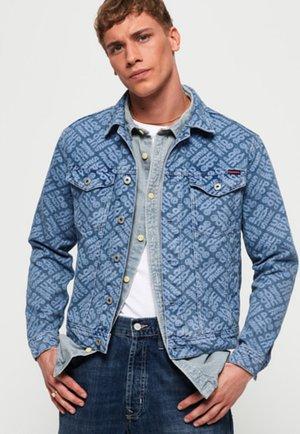 HIGHWAYMAN LOGO TRUCKER  - Denim jacket - light blue