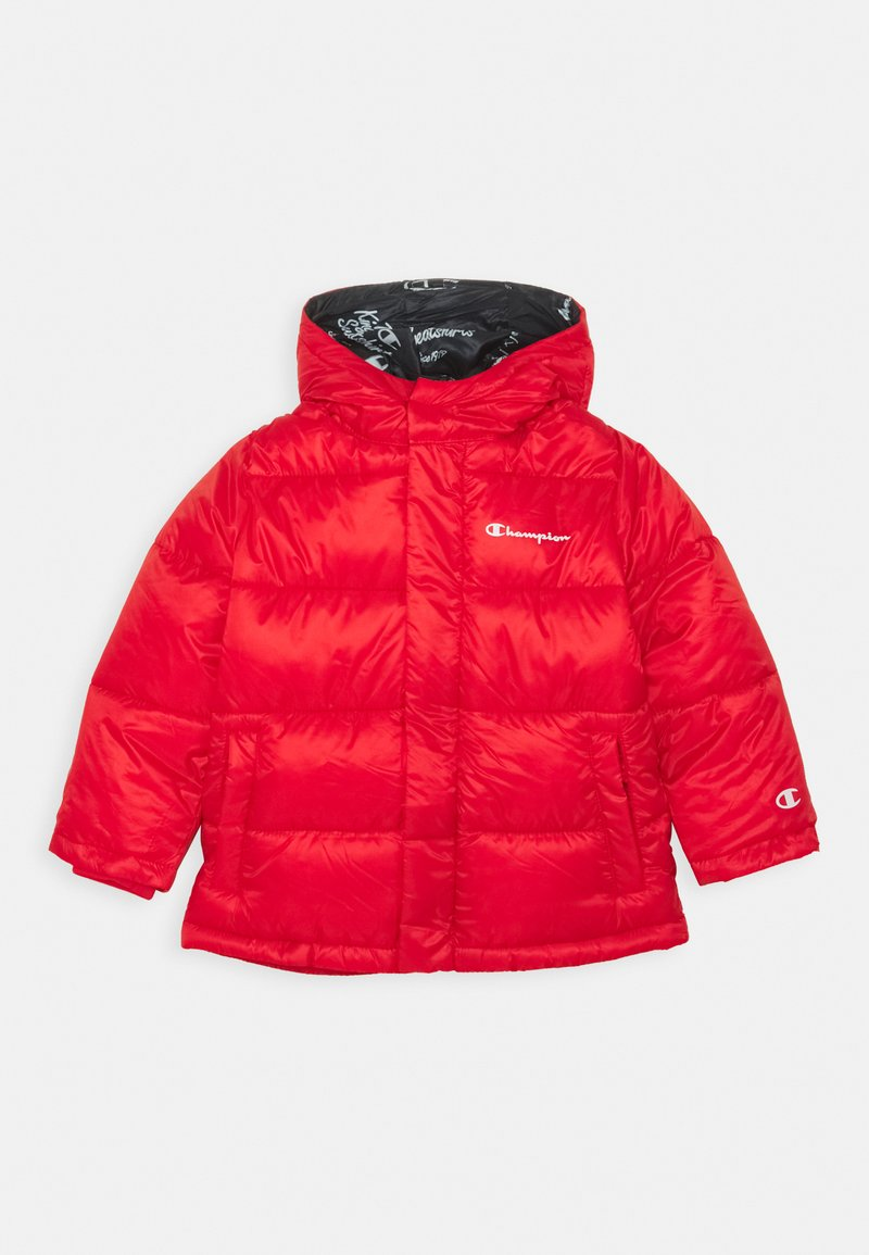 Champion - LEGACY OUTDOOR HOODED JACKET UNISEX - Zimní bunda - red