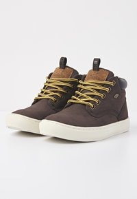 British Knights - Sneakers hoog - dk brown/black