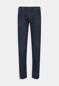 Emporio Armani - POCKETS PANT - Slim fit jeans - dark-blue denim - 5