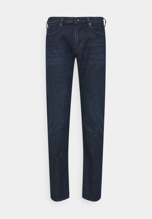 POCKETS PANT - Slim fit jeans - dark-blue denim