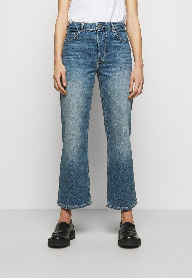 Boyish - MIKEY WIDE LEG - Flared Jeans - mirror