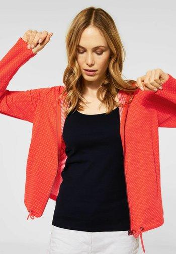 Zip-up hoodie - orange