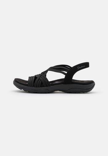REGGAE SLIM FIT - Sandalias - black gore