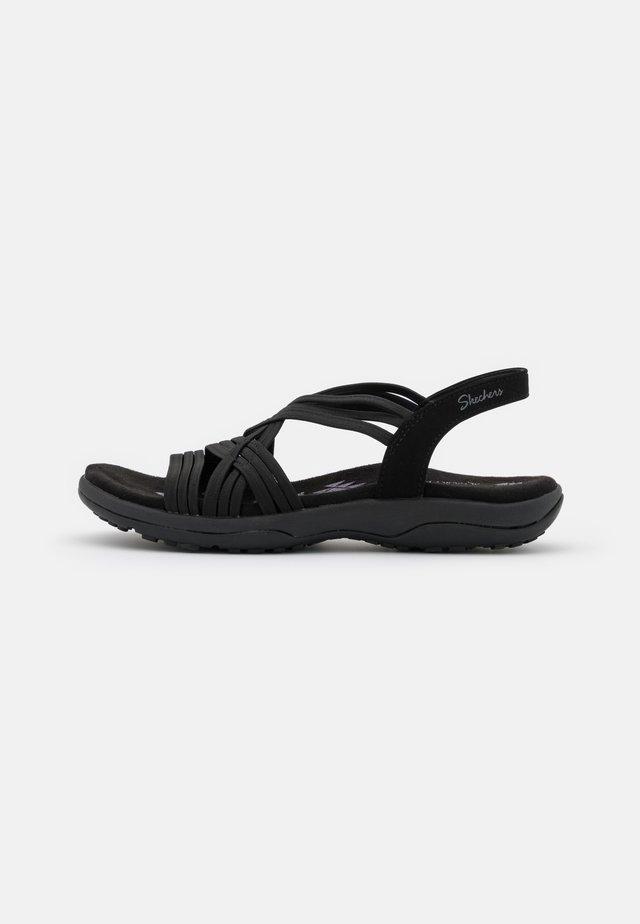 REGGAE SLIM FIT - Sandals - black gore