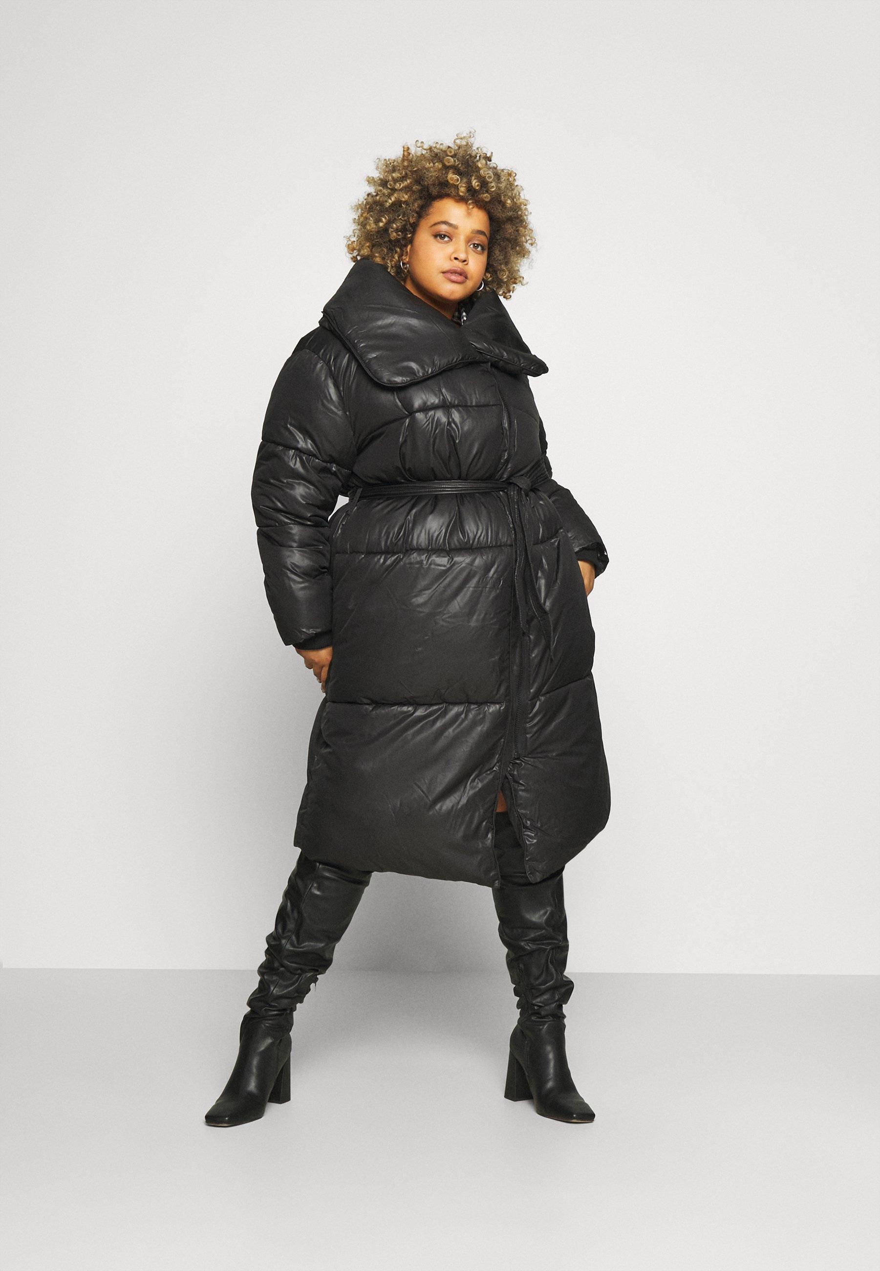 Women MAXI BELTED PUFFER - Winter coat