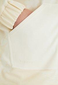 Desigual - PINTUCKS CAMO - Zip-up sweatshirt - white - 4