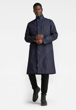 Classic coat - raw denim