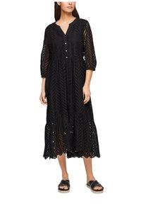 s.Oliver BLACK LABEL - Day dress - true black - 4
