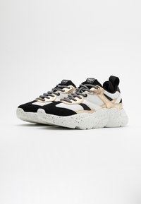 ONLY SHOES - ONLSANNA CHUNKY - Trainers - white/gold - 2