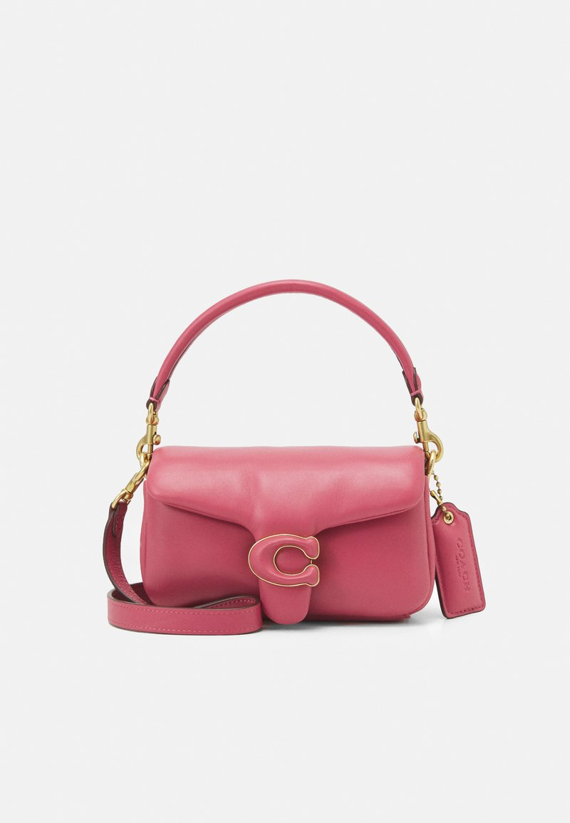 Coach - COVERED CLOSURE PILLOW TABBY SHOULDER BAG  7 - Handtasche - rouge
