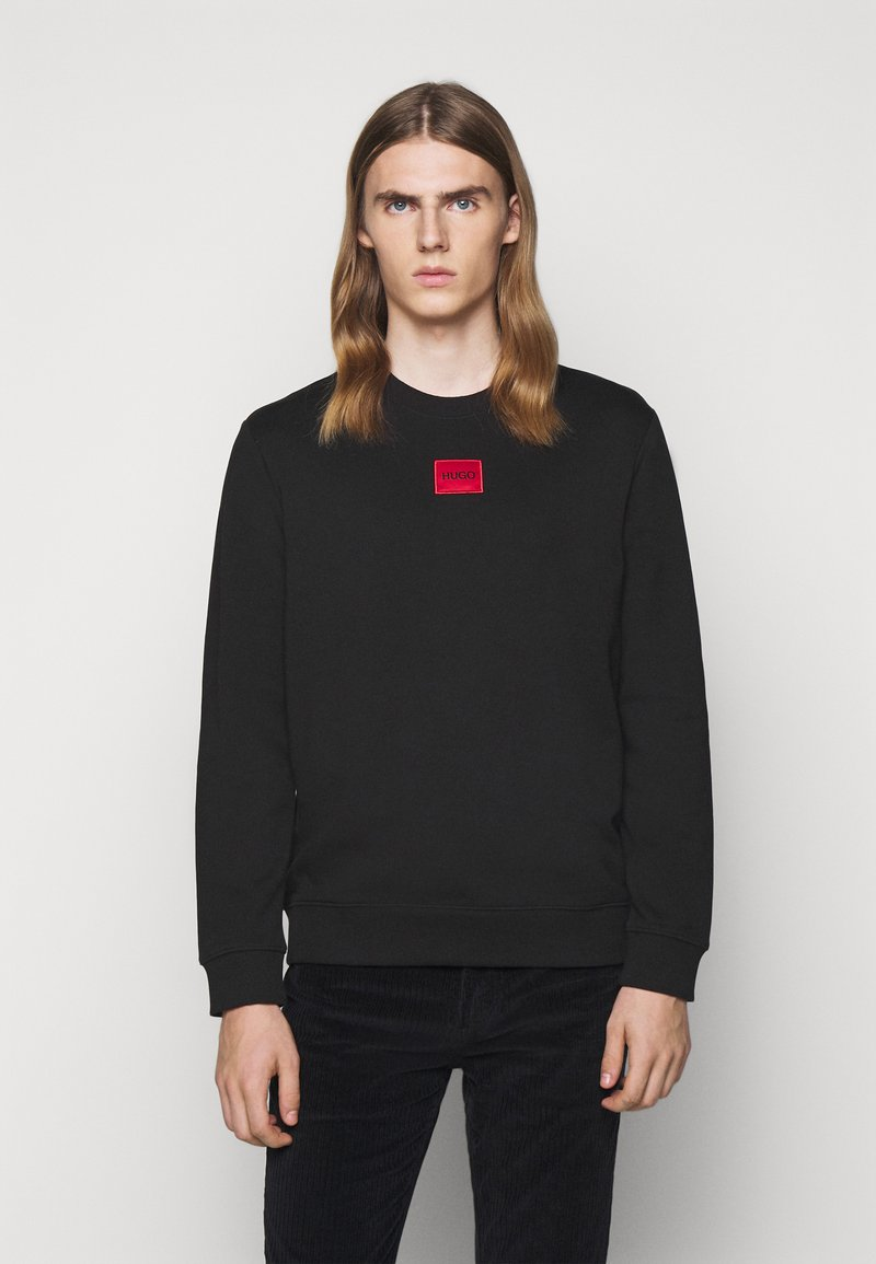 HUGO - DIRAGOL - Sweatshirt - black