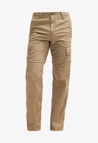 Carhartt WIP - REGULAR COLUMBIA - Pantalon cargo - leather rinsed - 5