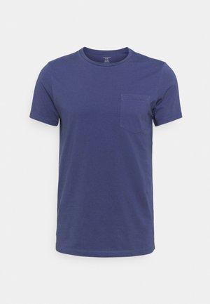 WILLIAMS - Basic T-shirt - dark blue