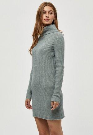 GENIA - Jumper dress - slate blue melange