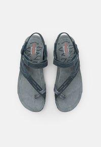 Merrell - TERRAN CONVERT II - T-bar sandals - slate/black - 3