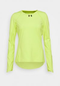 Under Armour - RUSH CREW - Long sleeved top - lime fizz - 4