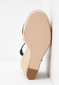 Miss Selfridge - WALLACE - Sandály na vysokém podpatku - black - 6