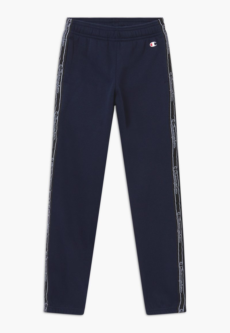 Champion - AMERICAN CLASSICS TAPE - Pantalon de survêtement - dark blue