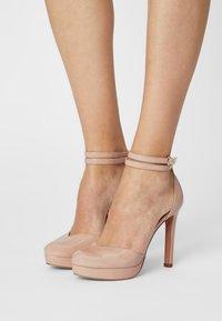 Even&Odd - Zapatos de plataforma - light pink - 0
