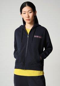 Napapijri - BILEA  - Zip-up sweatshirt - blu marine - 0