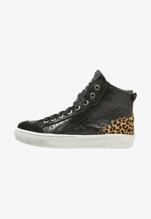 VULCAN - High-top trainers - black