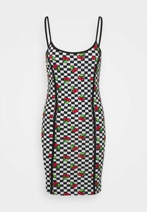 CHERRY CHECKERBOARD DRESS - Hverdagskjoler - multi